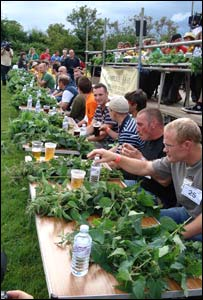 Campeonato Mundial de Comer Ortiga, 2007