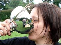 Sonia Fukes, ganadora en la categoría femenina.