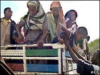 Somali refugees in Kenya (Archive picture)