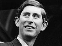 This photo of Prince Charles was taken in Aberystwyth in 1969 (picture: Raymond Daniel)