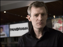 Panorama presenter and reporter Jeremy Vine