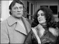 Richard Burton and Elizabeth Taylor in Aberystwyth (picture: Raymond Daniel)