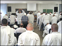 "Prisoners take part in ""community time"""