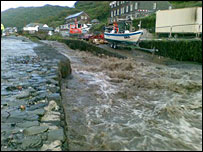 Boscastle river (picture by Hedley Venning)