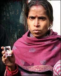 Iti Vishwas, whose daughter is missing