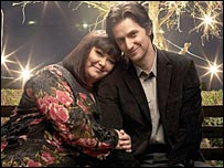 Dawn French and Richard Armitage in The Vicar of Dibley