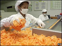 Condoms being made in Thailand - file photo