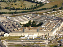Aerial view of Pentagon (file image from 29/05/2007)