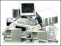 Computer mountain graphic