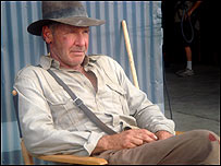 Harrison Ford as Indiana Jones (courtesy of LucasFilm)