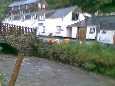 Boscastle flooding, copyright Hedley Venning