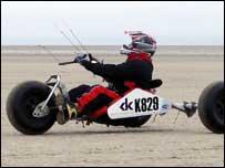 Kite buggy, courtesy of WSYC