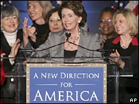 Incoming House Speaker, Nancy Pelosi