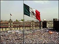 Plaza del Zócalo en México DF