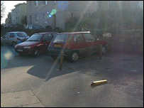 St Ives parking space