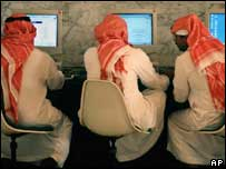 Net use in Saudi Arabia, AP