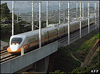 Taiwan's high speed train (file photo)