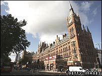 The Midland Grand Hotel/St Pancras station