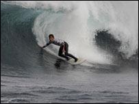 Thurso surfer taken by O'Neill