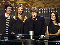 The cast of The OC