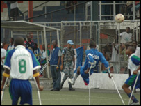 Liberia amputees versus Sierra Leone amputees