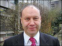 Council leader Derek Vaughan