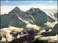 Mount Everest (Image: AP)