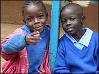 Kenyan schoolgirls