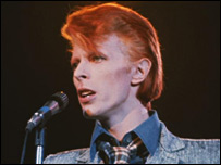 Bowie in 1975