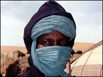 A Tuareg man