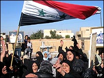 Protestas en Tikrit