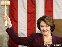 Nancy Pelosi, nueva presidente de la Cámara de Representantes de EE.UU.