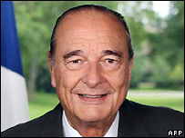Former French President Jacques Chirac - 15/5/2007