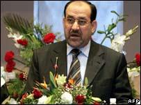 Iraqi Prime Minsiter Nouri Maliki