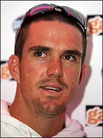 Kevin Pietersen at the launch of Kevin Pietersen Pro Cricket 2007