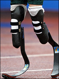 Pistorius has been dubbed 'Blade Runner' because of his prosthetics