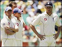 Andrew Flintoff and his team were disconsolate