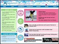 Powderroom.net website