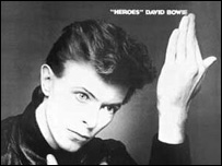 David Bowie's Heroes album