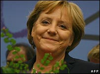 German Chancellor Angela Merkel - 23/06/2007