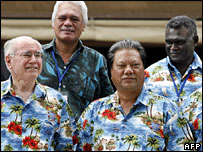 Pacific Islands Forum leaders meeting, October 2006