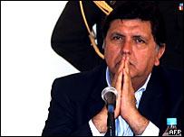 El presidente peruano durante la reciente cumbre andina.