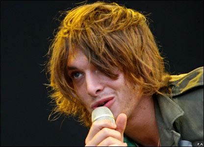 Paolo Nutini performs at Glastonbury