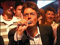 Mike Read presents the final Top of the Pops in 2006