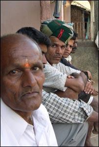 Malsai village leader Gajanan Malusari