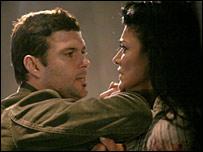 Carlos Bernard and Shohreh Aghdashloo as Tony Almeida and Dina Araz in 24