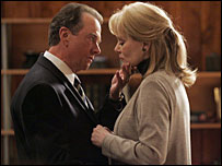 Gregory Itzin and Jean Smart as Charles and Martha Logan in 24