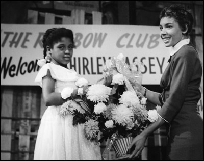 Shirley Bassey in 1957