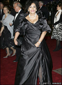 Dame Shirley at Bond premiere
