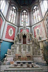 Interior of Gorton Monastery